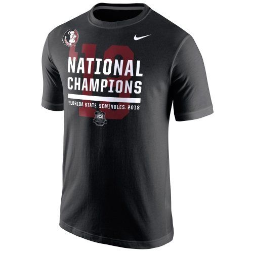 Nike Florida State Seminoles (FSU) 2013 BCS National Champions Locker Room  T-Shirt