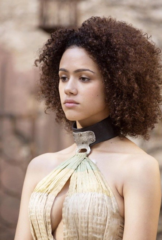 "Nathalie Emmanuel (Missandei from ""Game of Thrones"") 