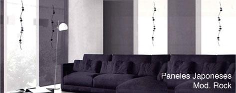 Paneles Japoneses Rock, ideales para decoraciones minimalistas, en tonos grises, platas y blancos. Crea ambientes espectaculares con estas combinaciones. http://www.cortinadecor.com/productos/3096/paneles-japoneses/rock-paneles-japoneses