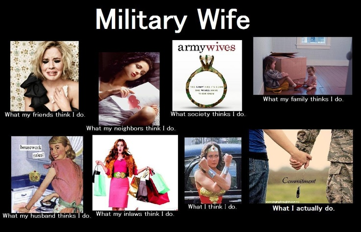 Being married in the navy