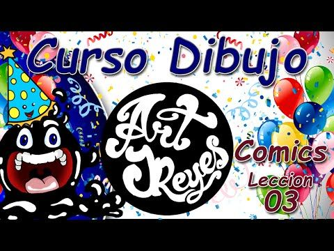 Curso Dibujo Art JReyes Comics 03 - Drawing course - Comics 03 - My Birthday ;) - YouTube