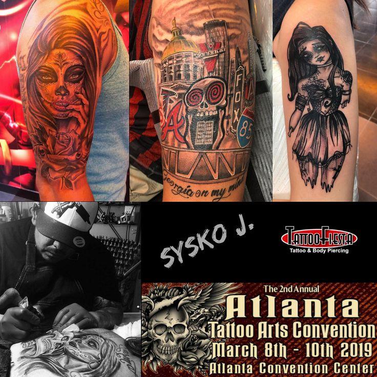 Atlanta tattoo arts convention march 8th 10th 2019