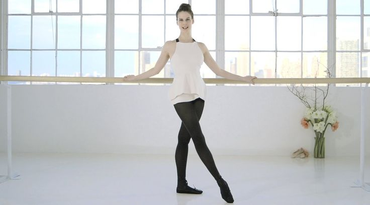 Ballet Beautiful with Mary Helen Bowers -- Perfect your posture | NET-A-PORTER.COM