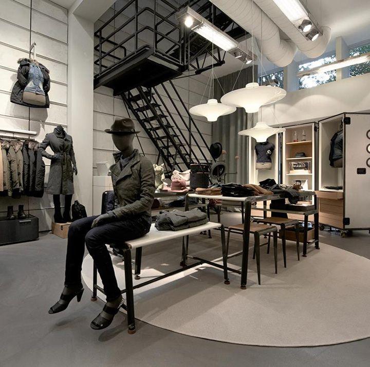 G Star Women store, Amsterdam store design
