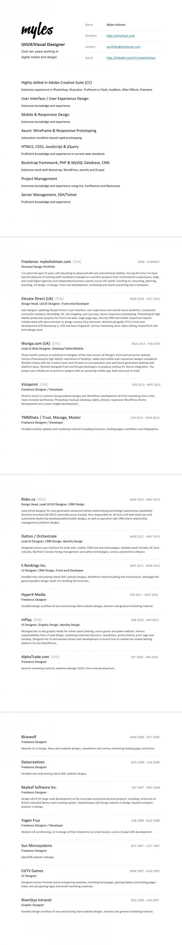 Best 75+ Resume / CV images on Pinterest | Curriculum, Resume and ...