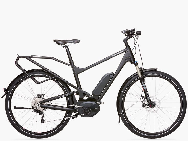 The Delite from Riese & Müller offers a completely new E-bike concept in a fresh new design and aimed at two target groups: E-mountain bikers who take on demanding mountain routes and sporty touring and city riders