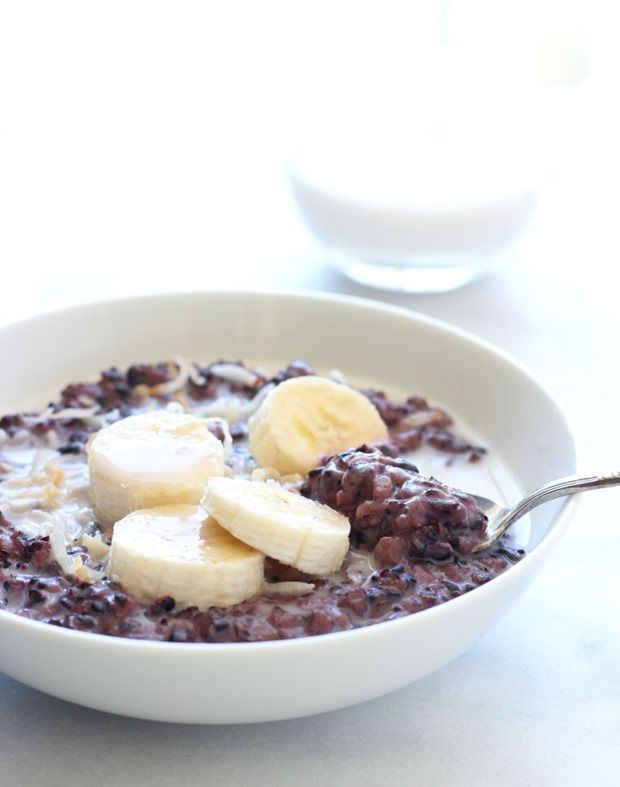 Black Rice Breakfast Pudding | Recipe | Protein, Sushi and ...