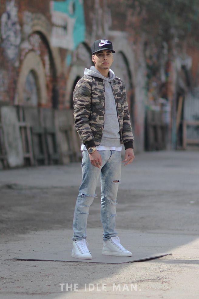 Army Green Bomber Jacket Inspiration #StyleMadeEasy