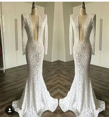 Perfect wedding gown for the perfect,sexy dress
