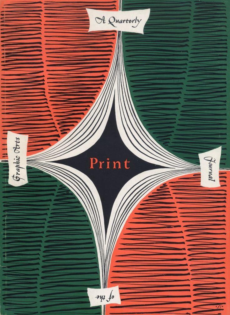 Covering Print Magazine, 1940-1953 - Print Magazine