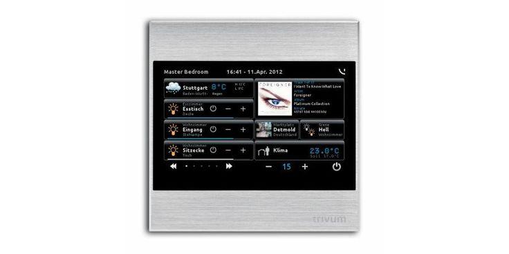 trivum TouchPad - Room Controller by Trivum Technologies