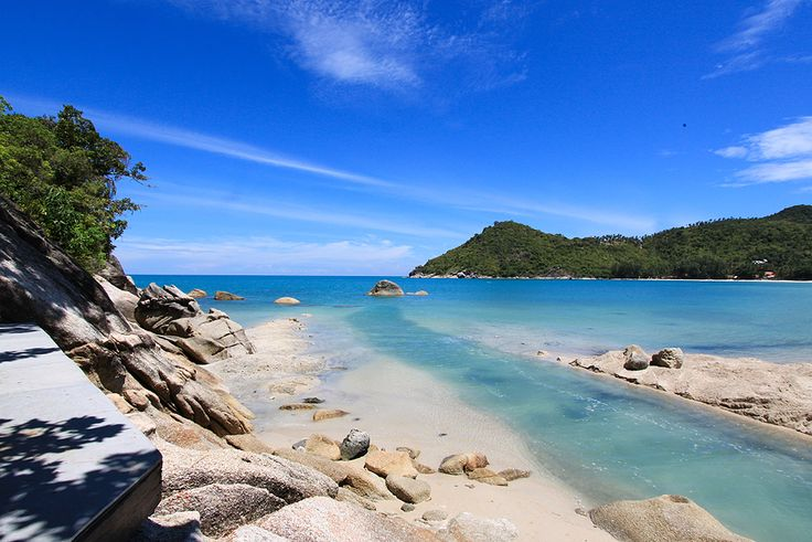 Thong Nai Pan in the East of  the island Koh Phangan in the Gulf of Thailand  #thailand #kohphangan #beach