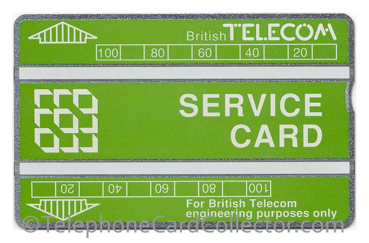 Last ever optical BT Phonecard produced by Landis and Gyr in Switzerland in June 1998. A Service Card, featuring the control prefix 806L.