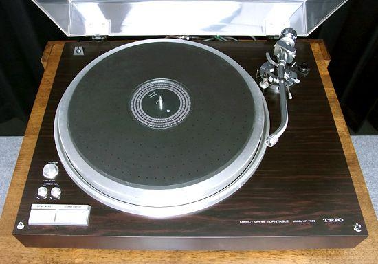 ターンテーブル TRIO KP-7600