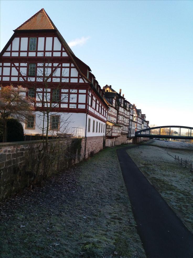 ROTENBURG a.d.Fulda - voll mit schönem Fachwerk