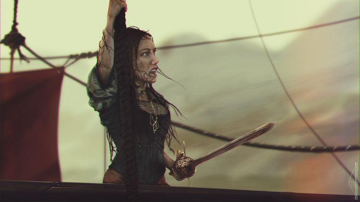 Anne Bonny. Black sails fanart #blacksails #fanart #pravjahgallery #AnneBonny