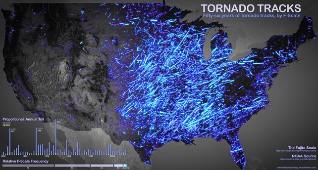 56 Years Of America's Most Terrifying Tornadoes