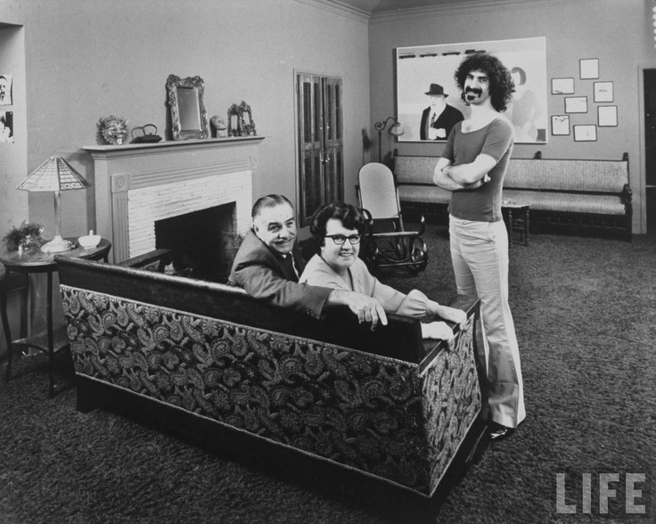 The Zappas. You now know where the mustache came from.