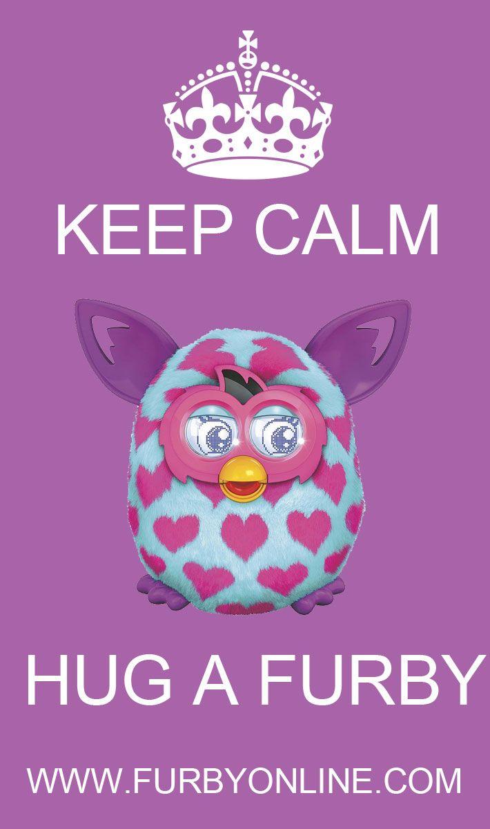 Hug a Furby:) #furbyboom