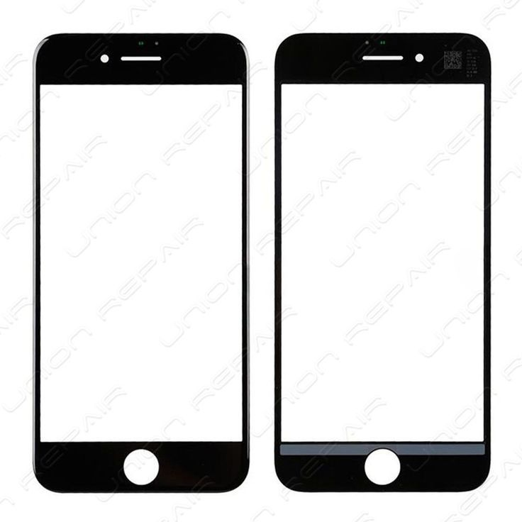 Replacement for iPhone 7 Front Glass - Black    Specifications:  Color: Black  Screen Size: 4.7 inches  Material: Glass  Compatibility: iPhone 7    Features:      This iPhone 7 glass lens with frame is...