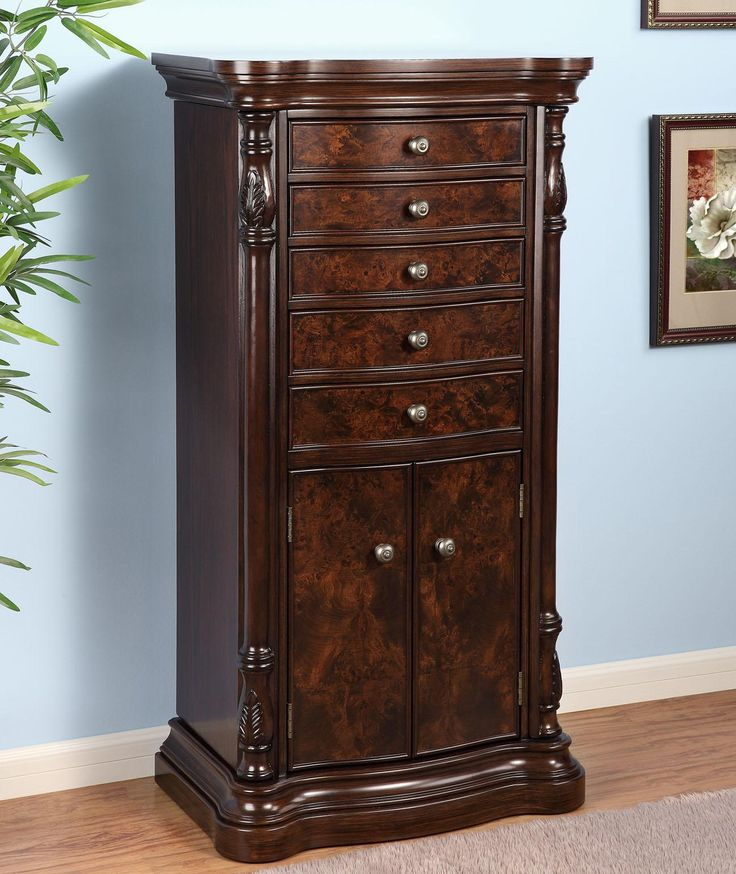 13 best Large Floor Standing Jewelry Box Cabinet images on ...