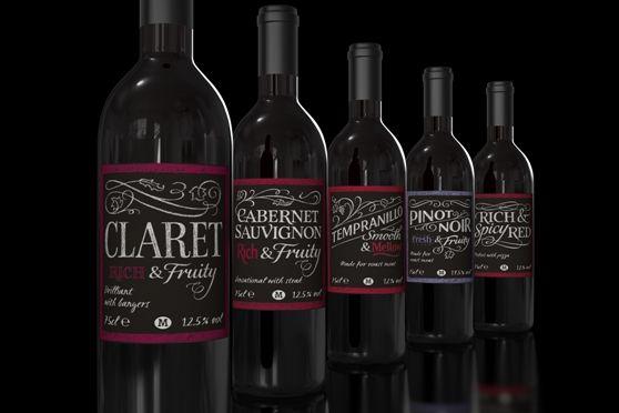 Morrisons' Wine Labels #2