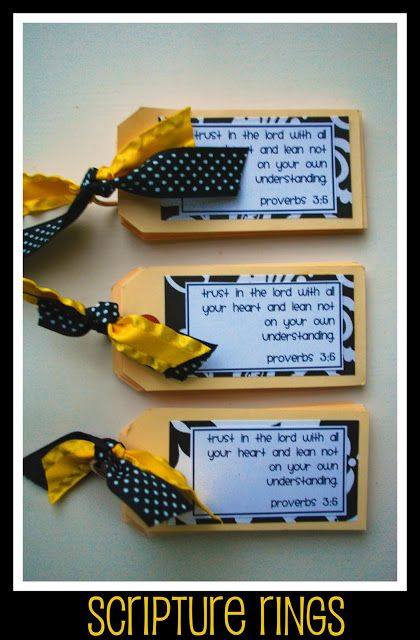 scripture tags with rings to attach to bags or notebooks.  great for memorization. This tags were created to comfort and uplift women dealing with grief