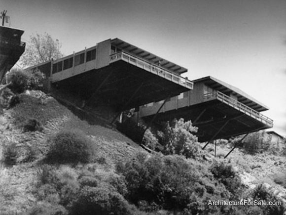 Richard Neutra  The Stone/Fisher Platform House, 1961, Coldwater Canyon.