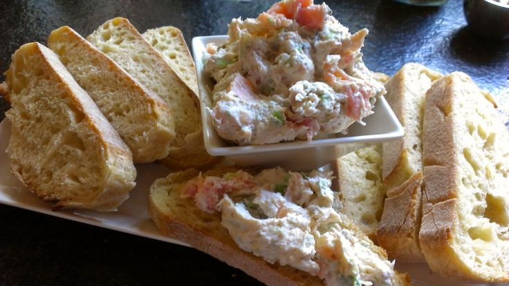 Got it, Cook it: Smoked Salmon Spread with Capers, Lemon & Green Onion