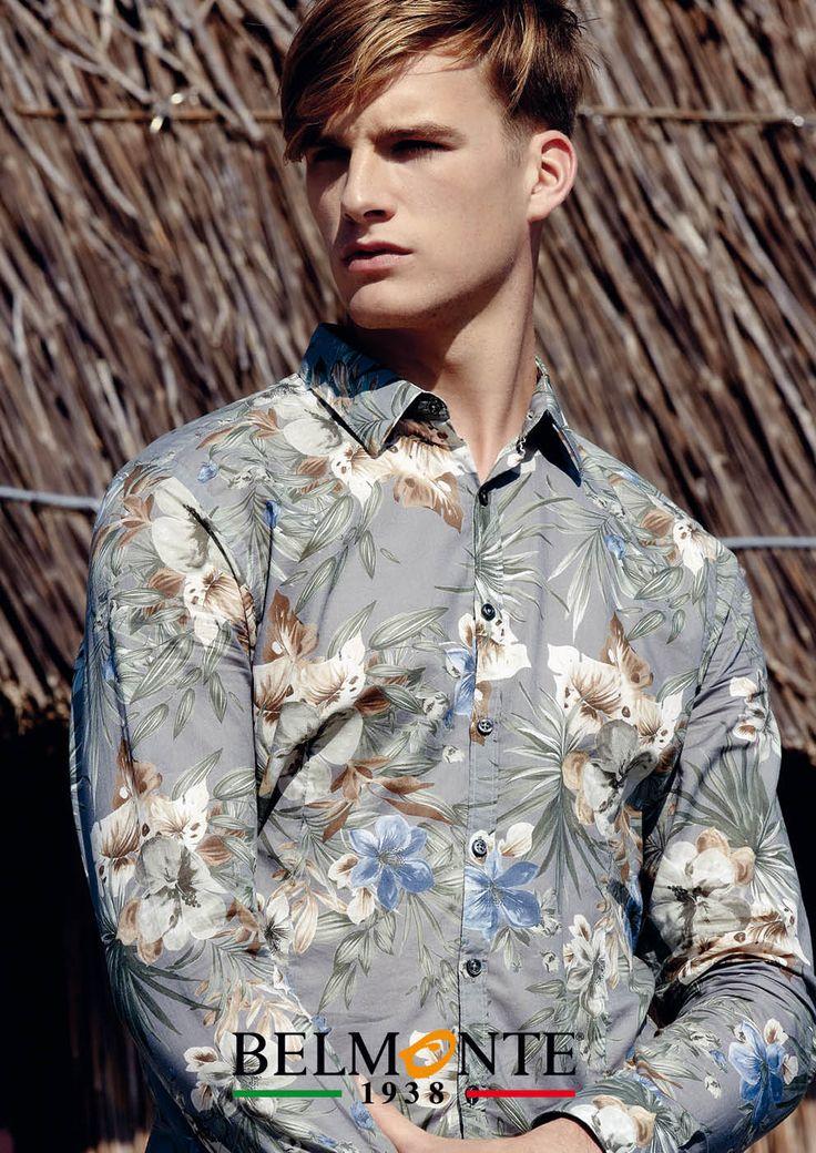 Stile giovane e intraprendente con la camicia della serie Trend. Stylish colourful Trend shirt for young and adults. #belmonte1938