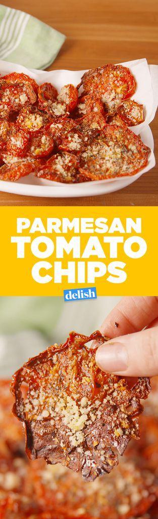 Parmesan Tomato ChipsDelish