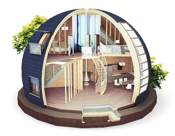 Dome Home Design Ideas: I Have No Idea What Language This Site's