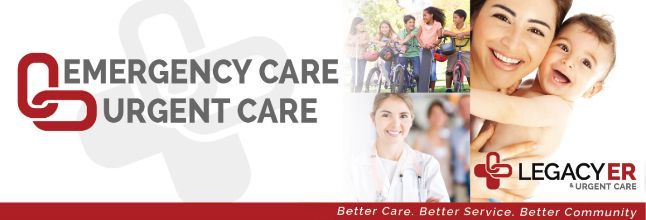 24 Hour Emergency Care McKinney - Contact at (972) 548-7277 Or  Visit http://www.legacyer.com/urgent-care-mckinney