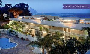 Groupon - Stay at Inn at Morro Bay in Morro Bay, CA, with Dates into April in Morro Bay, CA. Groupon deal price: $77