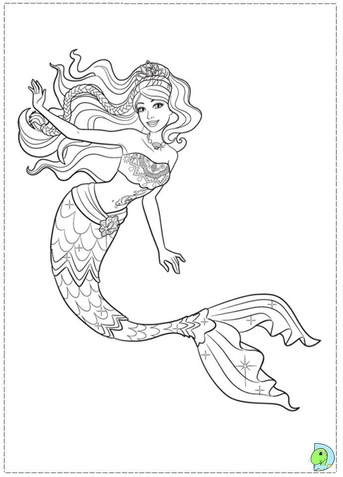 Pin By Renata On Barbie Coloring Mermaid Coloring Mermaid Coloring Book Barbie Coloring Pages