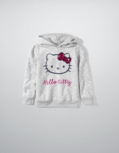 ТОЛСТОВКА HELLO KITTY - Спорт - Одежда для девочек (2-14 лет) - Детская одежда - ZARA Россия