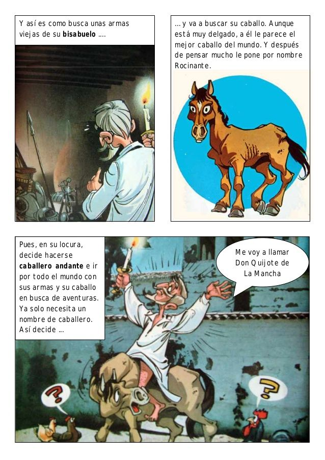 Cómic don quijote