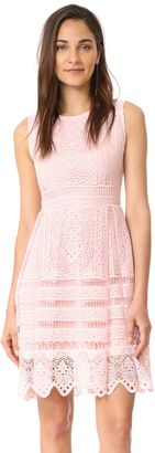 Shop Now - >  https://api.shopstyle.com/action/apiVisitRetailer?id=642352723&pid=uid6996-25233114-59 cupcakes and cashmere Summers Lace Fit And Flare Dress  ...