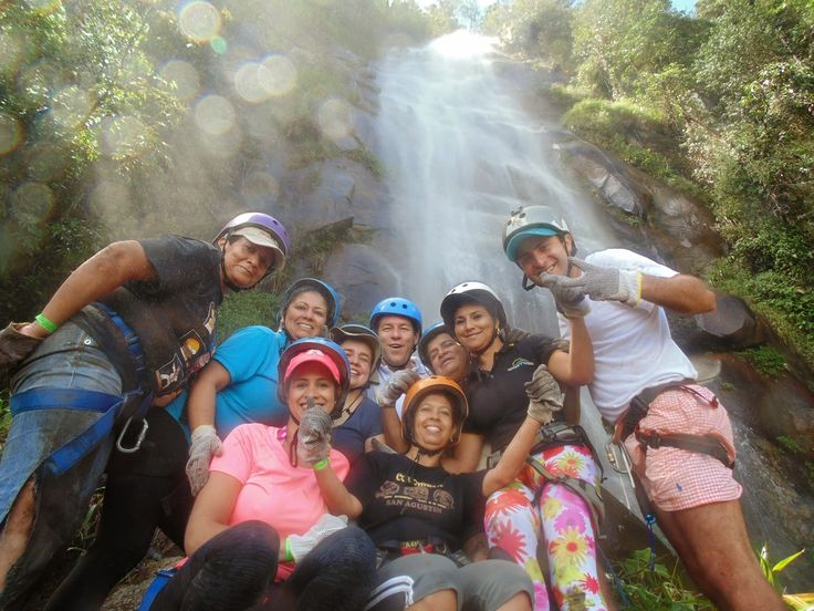 Destinos y Turismo Operadora Turistica: ACTIVIDAD DE TORRENTISMO  Se realiza en la cascad...