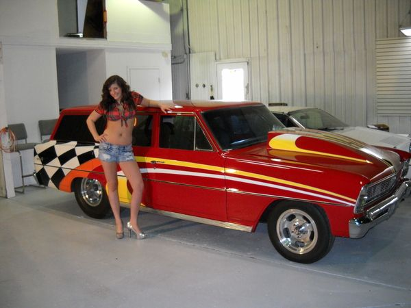 1966 Nova Wagon Pro Street Drag Car For Sale In Ottumwa