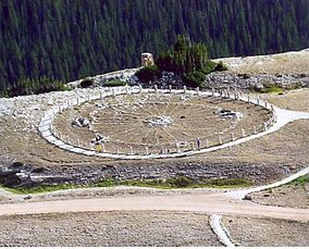 bighorn national forest- Medicine Wheel - Such a spiritual place and the view is breathtaking.