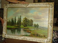 Here is a short guide to teach some basic art terminology I wrote, click on pic to read...    http://reviews.ebay.com/SUPER-Simple-ART-Terminology-for-Antique-Oil-PAINTINGS?ugid=10000000012395537
