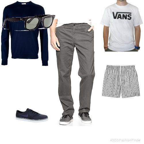outfits+for+guys | Men's Outfits Simple Swag #ad