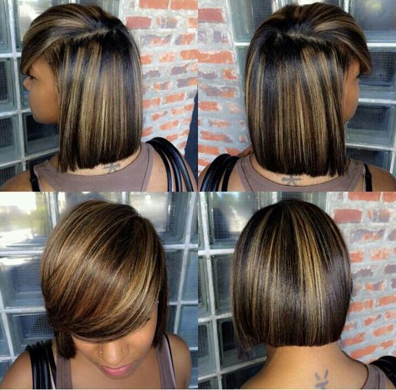 Colour and cut on point #HairWeaves #ombrehair #hairstyles #hairinspiration