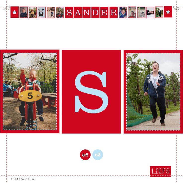 Sander 30! ♡ Feestje ♡ Thema Maria ♡ Maak ook je eigen slinger! www.LiefsLabel.nl