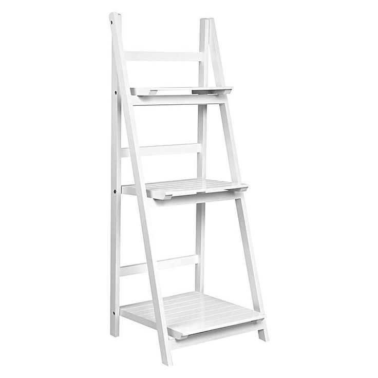 Langdon Ladder Shelf, White