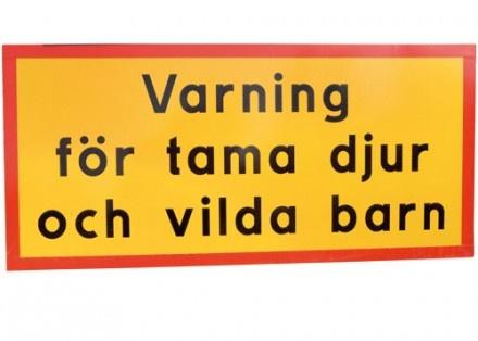 Varoitus kesyistä elämistä ja villeistä lapsista.