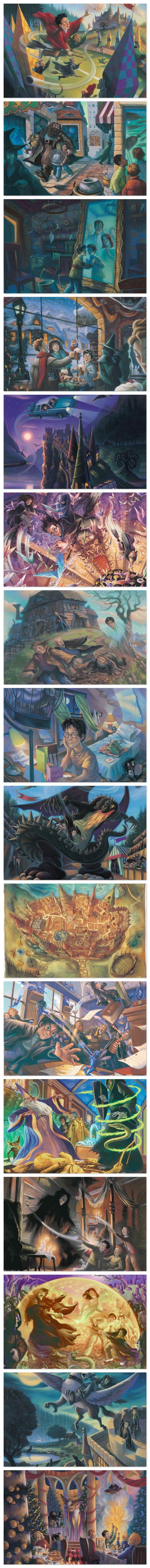 Veja aqui as ilustrações que não foram selecionadas durante o lançamento dos livros!