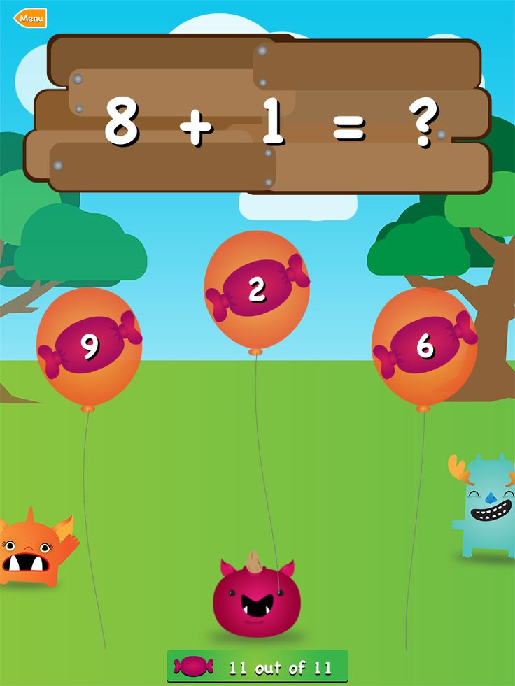 Ogre Academy Math: Great educational app for kids of different ages, and it's FREE. Load up the iPad.