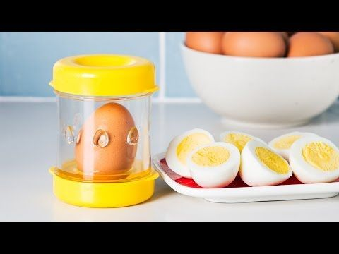 Shed an eggshell in seconds.
